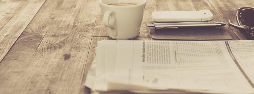 newspaper_coffee_cup_cellphone_vintage_retro_hd_wallpapers-851x315